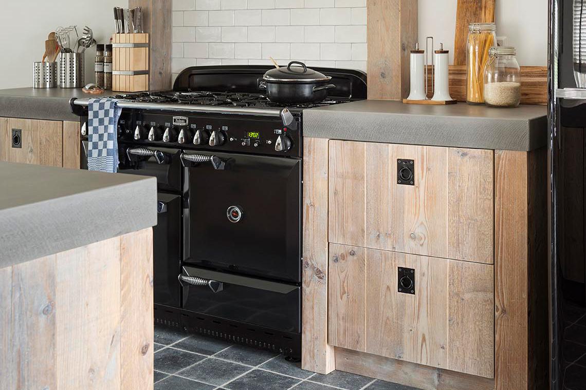 Steigerhouten keuken restylexl moderne luxe steigerhouten